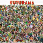 Der ganze Futurama Cast! Alle in einem Bild!