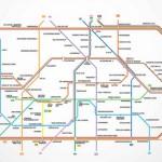 Berliner U-Bahn Plan mit Suff-Garantie!
