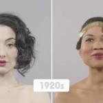 100 Jahre Schönheit in einer Minute